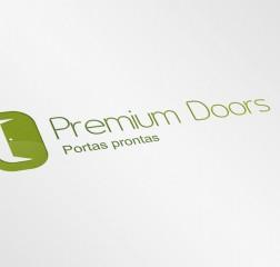 Logotipo Premium Doors